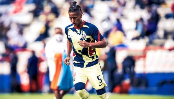 Pedro Aquino fue titular en 13 de los 15 partidos que jugó por el América en Liga MX. (Foto: Club América)