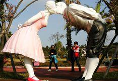San Valentín: siete esculturas románticas alrededor del mundo   FOTOS