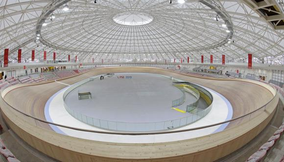 El Velódromo que se construyó en la Videna para los Juegos Panamericanos. (Foto: Lima 2019)
