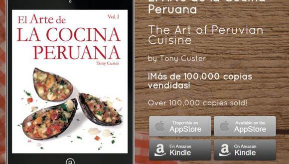 """""""El arte de la cocina peruana"""" se convierte en libro digital"""