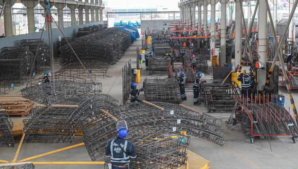 El MTC supervisó el avance de las obras de la Línea 2 del Metro de Lima. (Foto: MTC)