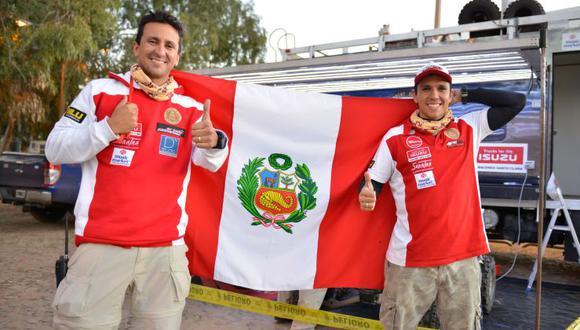 Alexis y Daniel Hernández acaban el Desafío Guaraní