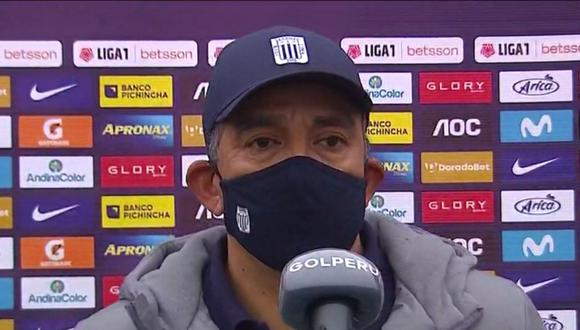 José Albornoz dirigió a Alianza Lima ante Ayacucho FC. (Captura: GOLPERU)