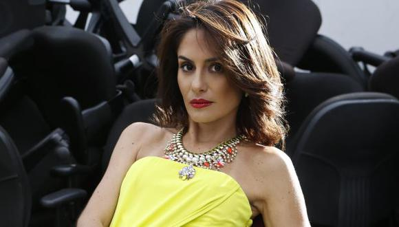 Mávila Huertas viajó a Los Ángeles para ver los Latin Grammy junto a su pareja, Manuel Garrido Lecca, quien compite por un premio.