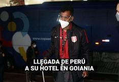 Copa América 2021: Así fue la llegada de la selección peruana a su hotel de concentración en Goiania