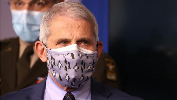 Fauci ha recomendado con anterioridad el uso de dos mascarillas. (Foto: Getty Images, vía BBC Mundo).