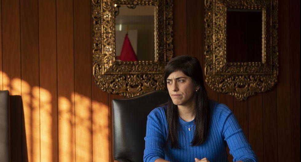 La ministra María Antonieta Alva sostiene que las brechas sociales son el gran problema del Perú. (Foto: José Rojas/GEC)
