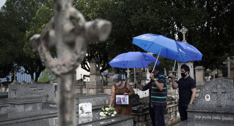 Coronavirus en Brasil | Últimas noticias | Último minuto: reporte de infectados y muertos hoy, lunes 21 de septiembre del 2020 | Covid-19 | (Foto: AP Photo/Silvia Izquierdo).