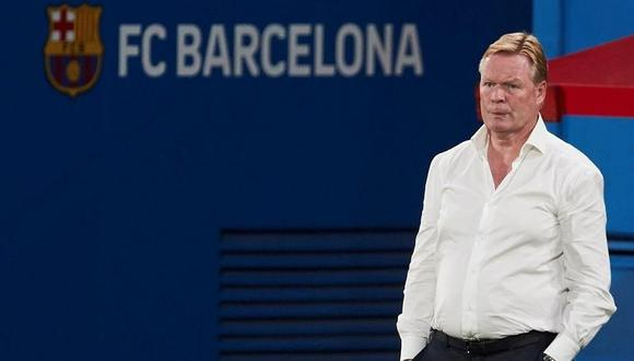 Koeman disputará su segunda temporada con el Barcelona. (Foto: FCB)