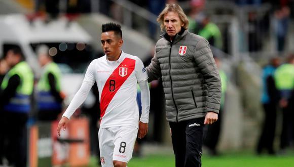 Cueva es parte de todo el proceso de Ricardo Gareca. Confió en él para la Copa América 2015 y no lo defraudó. (Foto: Reuters)