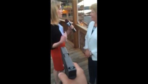 Asesino de dos periodistas grabó el crimen y publicó el video