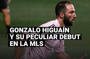 El turbulento debut de Gonzalo Higuaín en la MLS tras fallar un penal con Inter Miami