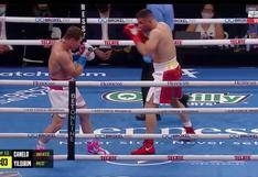 Canelo Álvarez: el brutal derechazo que tumbó a Yildirim y le dio la victoria por TKO al mexicano [VIDEO]