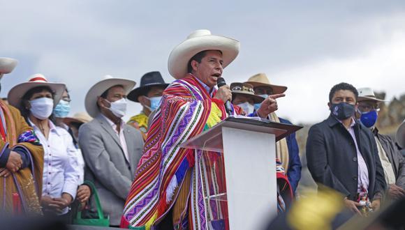 Pedro Castillo anunció la creación de Gabinete de desarrollo agrario.  (Foto: Presidencia)