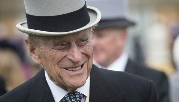 El esposo de la reina Isabel II, el príncipe Felipe, ha sido trasladado de regreso a un hospital privado para recuperarse de un procedimiento cardíaco en una unidad cardíaca especializada, dijo el Palacio de Buckingham el 5 de marzo de 2021. (Foto de archivo: Victoria Jones / POOL /). AFP)