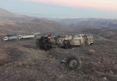 Veintisiete personas fallecieron por despiste de ómnibus en la carretera interoceánica