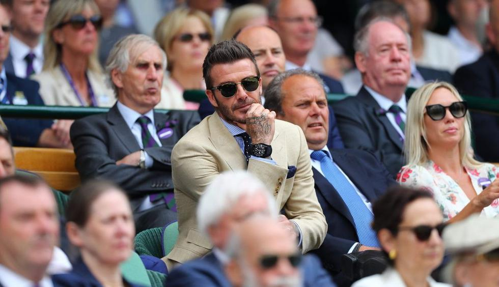 David Beckham, (Foto: Wimbledon)