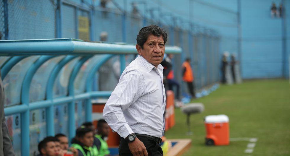 Javier Arce dirigió el Apertura y cinco partidos del Clausura de Binacional este año. (Foto: Jesús Saucedo)