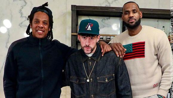 Bad Bunny participará en programa televisivo junto a LeBron James y Jay-Z. (Foto: @uninterrupted)