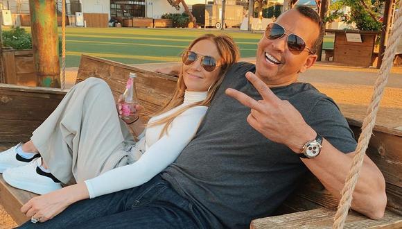 Jennifer Lopez y Alex Rodríguez protagonizan divertido duelo de baile. (Foto: @jlo)