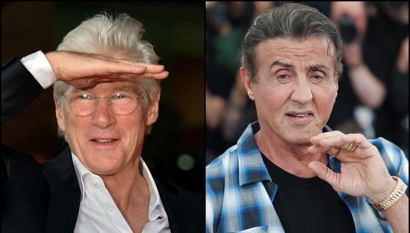 Incidente entre Richard Gere y Sylvester Stallone habrían ocurrido a inicios de los 90. (Foto: Reuters/AFP)