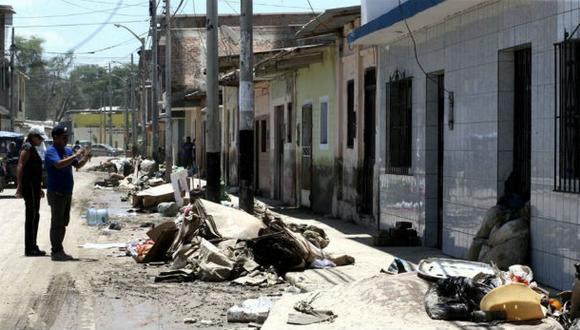 Piura: basura en la ciudad se duplica tras inundaciones