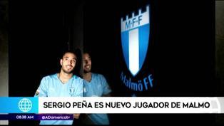 Sergio Peña se convirtió en nuevo jugador del Malmö FF de Suecia