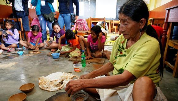 Tradicionalmente, los kukama kukamiria se han dedicado principalmente a la pesca y a la agricultura, siendo la caza y la recolección actividades complementarias. (Foto Andina)