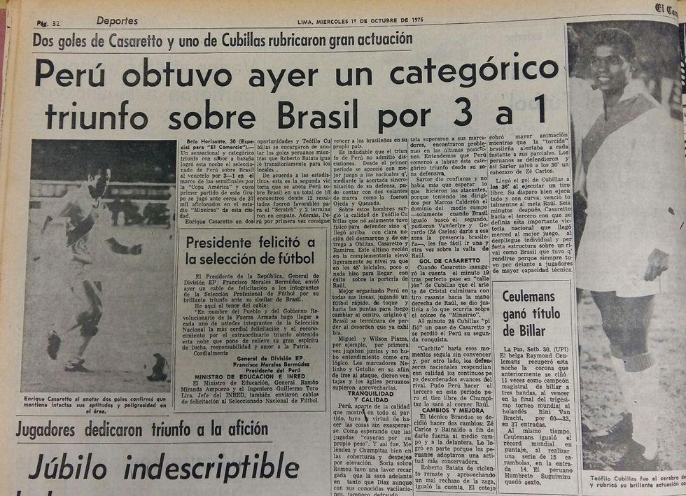 (Archivo Histórico del Diario El Comercio)