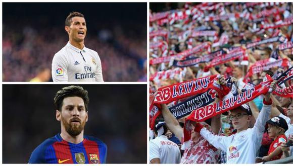 ¿Cristiano y Messi están en la agenda del Red Bull Leipzig?