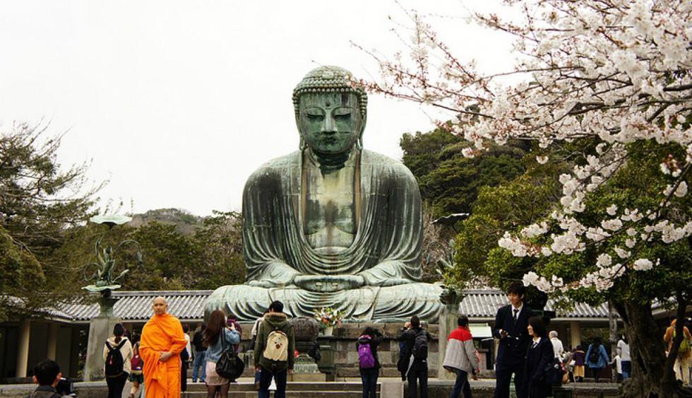 Buda Tian Tan. Es más conocido como el Buda Gigante ubicado en Ngong Ping en la isla de Lantau, Hong Kong. (Foto: Yukino Miyazawa / Flickr)