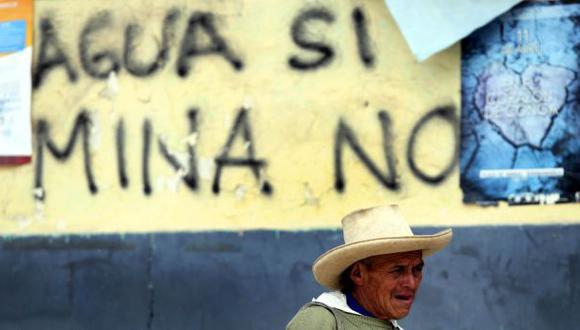 Inversión minera en Cajamarca cayó 55% durante el 2013