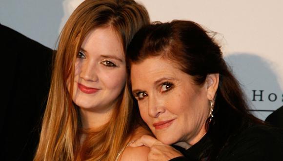 """""""Star Wars"""": Hija de Carrie Fisher estaría en el """"Episodio VII"""""""