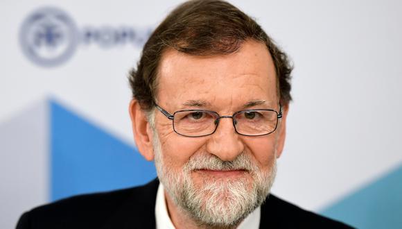Mariano Rajoy renuncia a la presidencia del Partido Popular. (AFP).