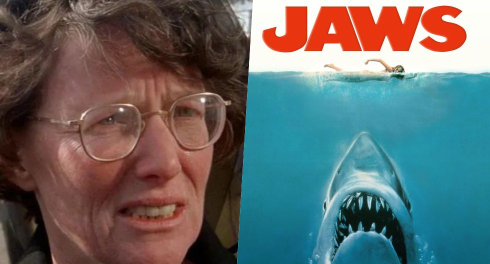 """Lee Fierro en una escena de """"Tiburón""""."""