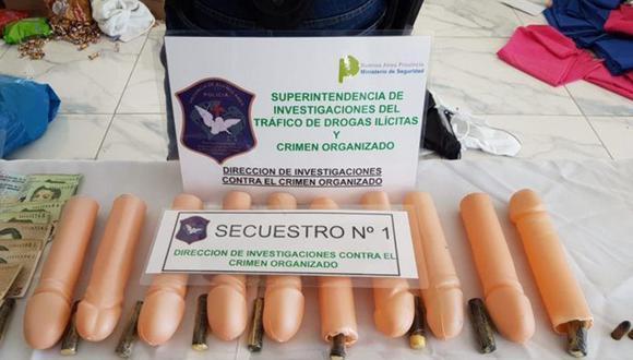 Banda de narcotraficantes escondía droga en juguetes eróticos. La Policía de Argentina desbarató la organización luego de un largo seguimiento. (Foto: Facebook)