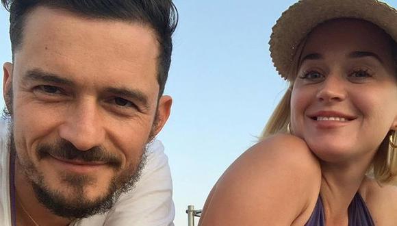 Katy Perry y Orlando Bloom tienen más de cuatro años juntos. Todo empezó por una hamburguesa (Foto: @orlandobloom)