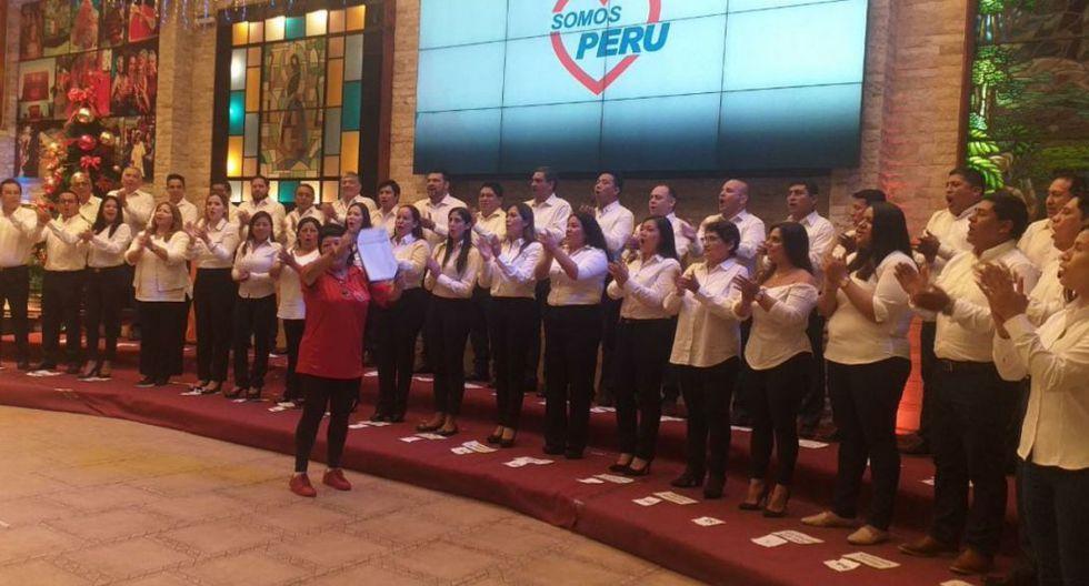 Somos Perú presentó su lista de candidatos (FOTO: difusión)