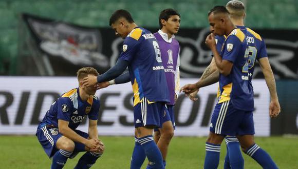 Boca Juniors quedó eliminado de la Copa Libertadores 2021 en octavos de final. (Foto: AFP)