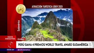 Perú fue reconocido como el mejor destino cultural y culinario de Sudamérica en los World Travel Award