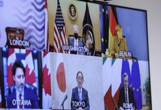 El G7 y Biden se comprometen a reforzar apoyo a la vacunación en los países pobres