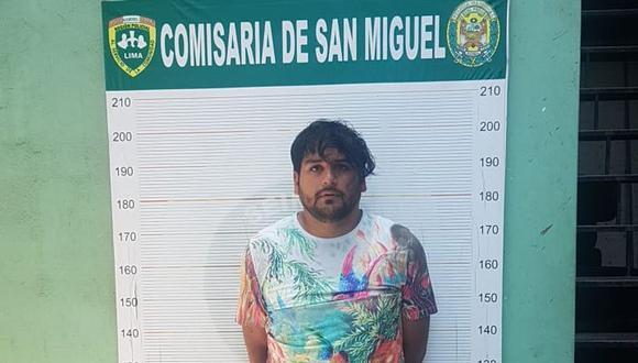El detenido es acusado por delito contra la libertad sexual - violación sexual. (Difusión)