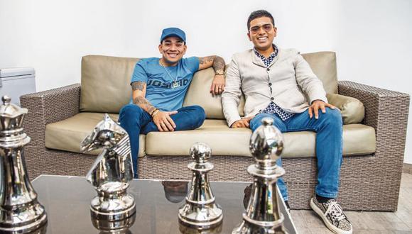 Josimar y Christian Yaipén en una entretenida entrevista con Trome. (Foto: Allen Quintana/GEC)