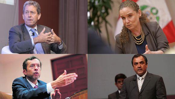 Cuatro exministros de Economía presentaron sus opiniones en relación a la situación actual del Perú.
