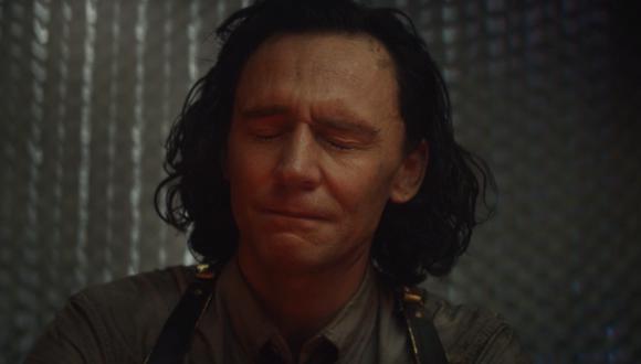 Loki (Tom Hiddleston) en los minutos finales del quinto episodio de su serie. Foto: Disney+.