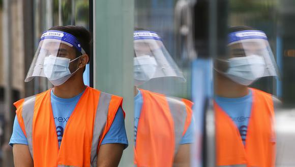 Coronavirus en Reino Unido | Últimas noticias | Último minuto: reporte de infectados y muertos hoy, jueves 08 de octubre del 2020 | Covid-19 UK | Foto: GEOFF CADDICK / AFP