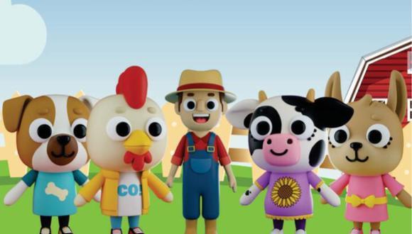 """""""Mero, el granjero"""": El primer canal animado peruano que busca entretener a los niños. (Foto: Difusión/Captura de video)"""