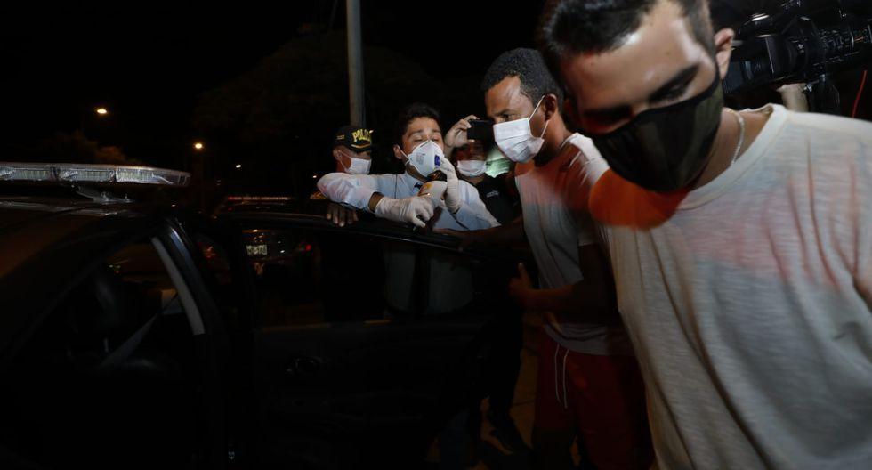 Pablo Zegarra detenido por haber incumplido con orden del Gobierno | Foto: César Grados/Gec