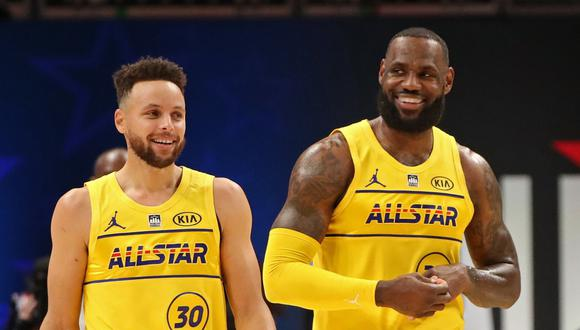 El equipo de LeBron James se impuso en el NBA All Star Game