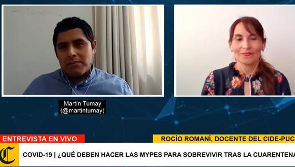 Rocío Romaní consideró que la crisis por el coronavirus es una ventana de oportunidades. (Foto: Facebook GEC)
